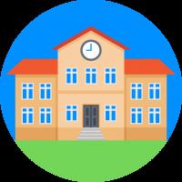 Школа, детский сад
