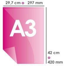 Печать А3 цветная